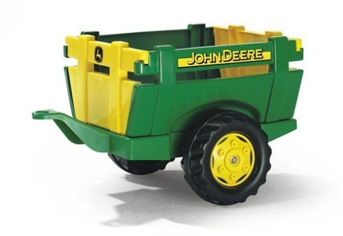 Rolly Toys 122103 - rollyFarm Trailer John Deere, gelb/grün