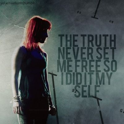 37 best images about Favorite Lyric Graphics... on Pinterest Paramore Song Quotes