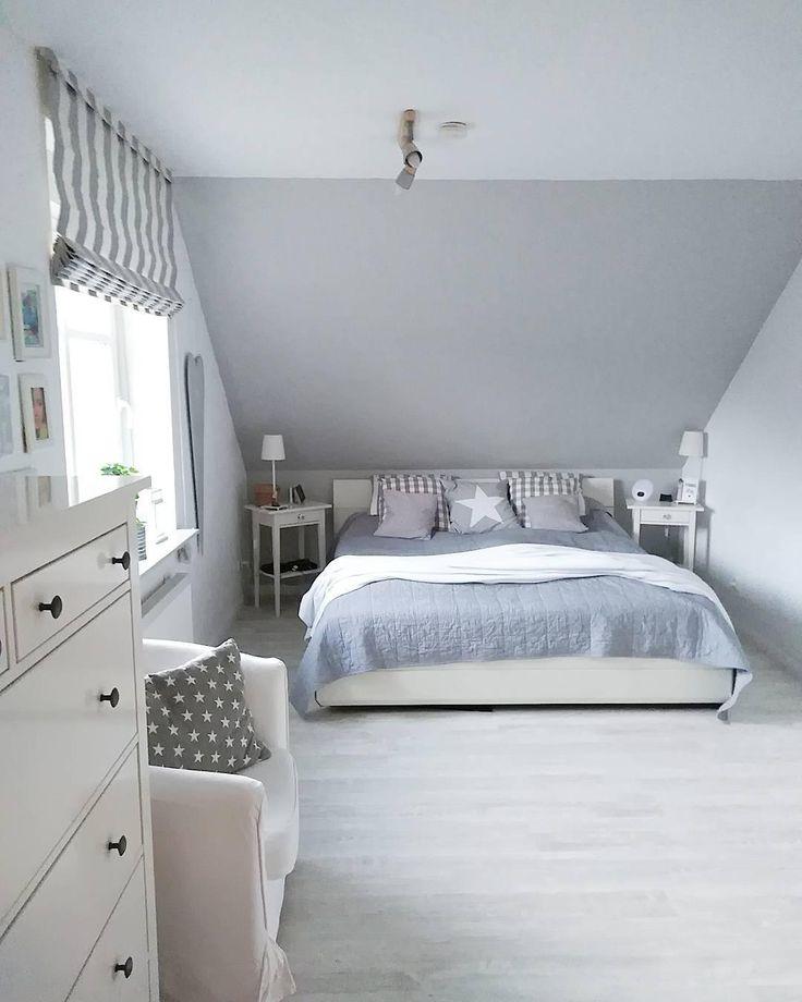 Die besten 25+ weißgraues Schlafzimmer Ideen auf Pinterest