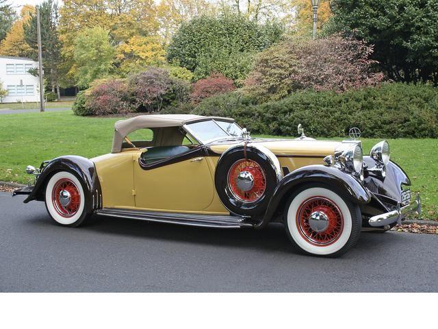 1932 Huppmobile Custom Roadster - (Hupp Motor Car Corp. Detroit, Michigan, 1908-1940)