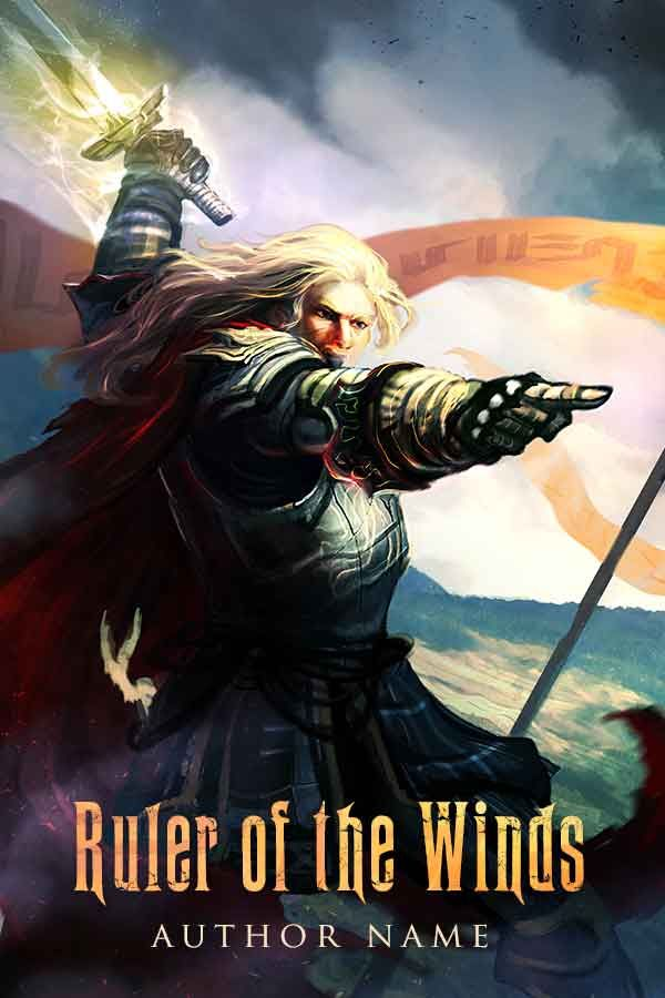New Book Cover for Sale: Ruler of the Winds - DreadJim https://bookcovers.io/covers/ruler-of-the-winds-dreadjim?utm_content=buffer12050&utm_medium=social&utm_source=pinterest.com&utm_campaign=buffer #action&adventure #children&youngadult #fantasy #staffpicks This premade book cover is perfect for any heroic fantasy story about an epic battle fought with magical swords and heroes wearing battle armor, house or clan flags waving proudly in the air. This Premium book cover design is availa…