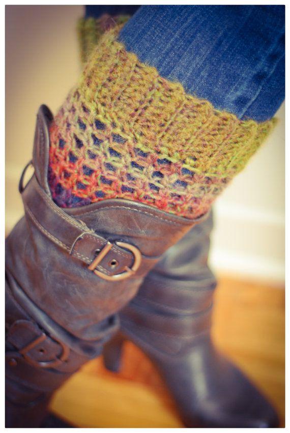Manchettes de bottes Amazing boot cuffs par Mailleatoutplaire