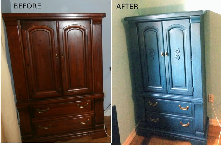 Done using Fusion Mineral paint in a mix of Renfrew Blue and Liberty Blue….black glaze