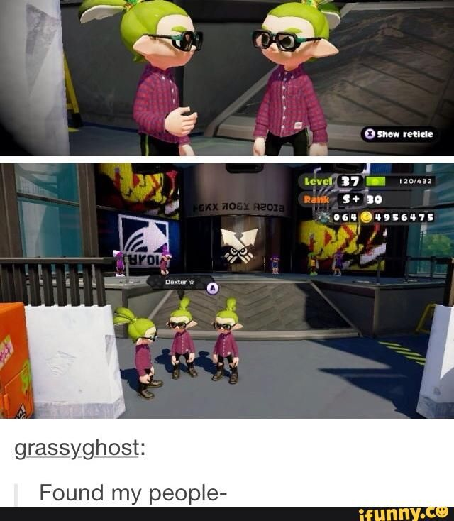 Splatoon Wow he's level 37 I'm only level 13
