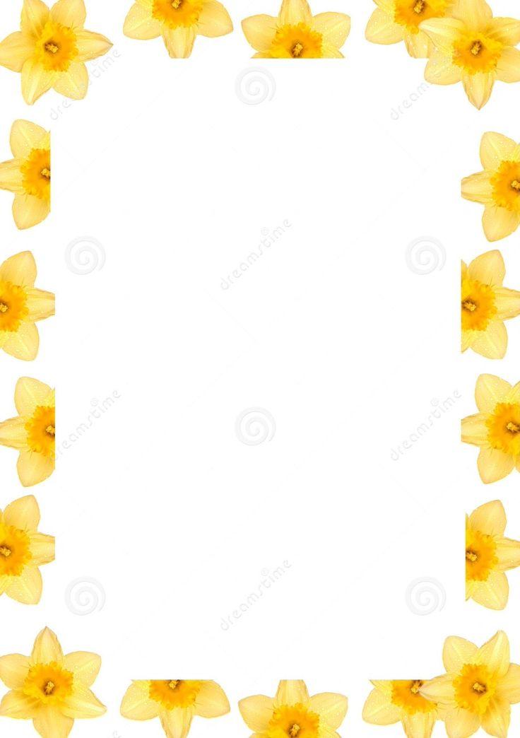 Clip Art Daffodil Flowers