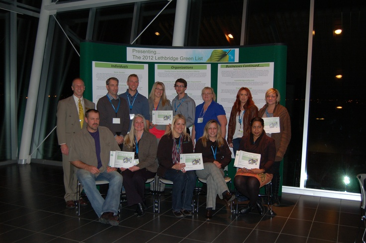 The OWC is a member of the Lethbridge Environment Week Committee - The Green List recognizes individuals, organizations and businesses taking green action.