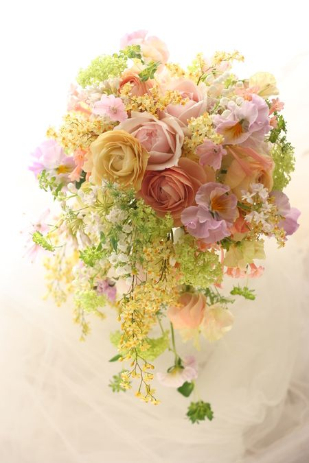 新郎新婦様からのメール 一週間後に パンパシフィック横浜様へ : 一会 ウエディングの花