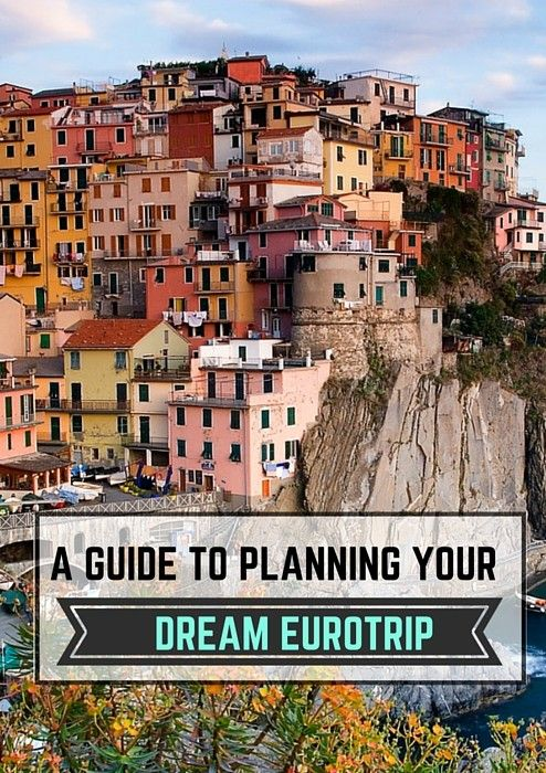 a guide to planning your eurotrip