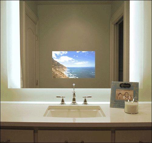 Tv Behind The Mirror Fun