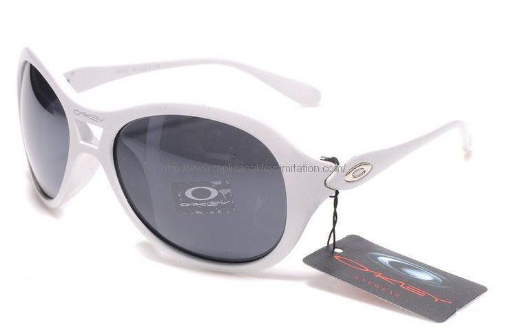 Oakley Vacancy Women's Sunglasses White Frame Black Lens