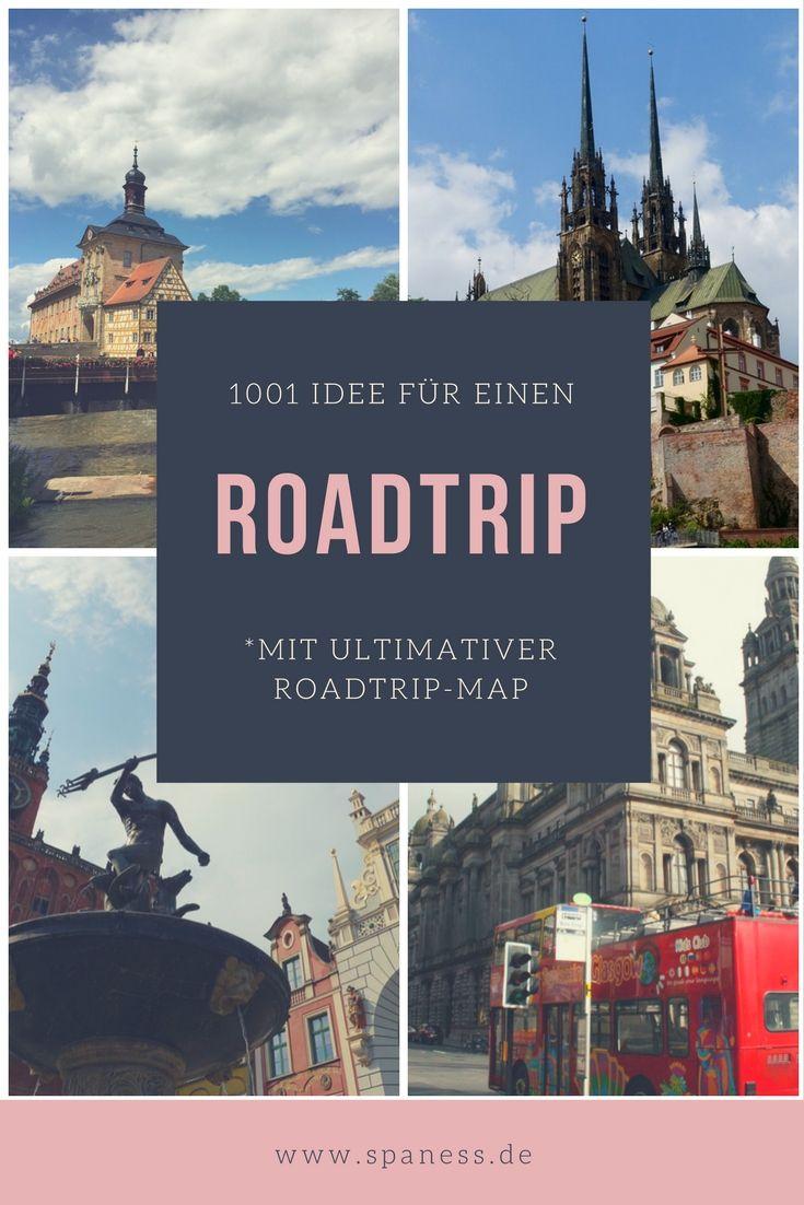 Reiseblogger Reiseziele & Roadtrip Ideen / Roadtrips Deutschland / Roadtrip Europa / Roadtrips auf der ganzen Welt.