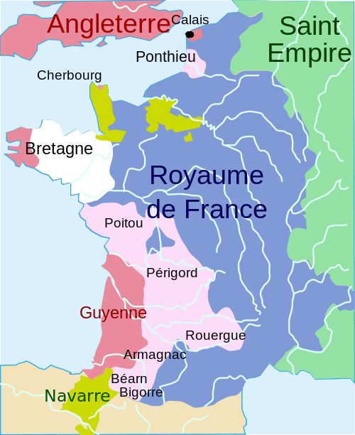 Royaume de France durant la guerre de Cent ans (1365)