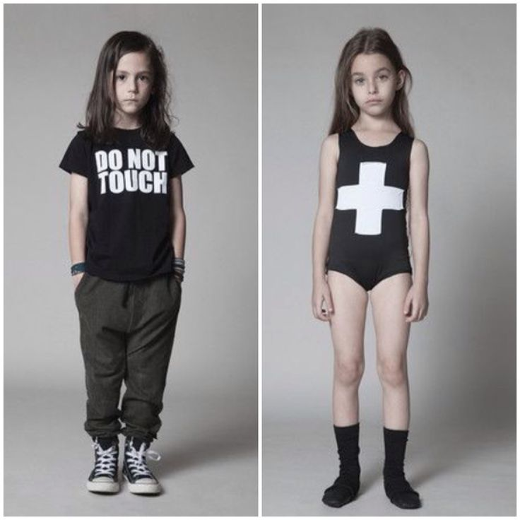 Nununu SS15 modern minimal children's clothing.