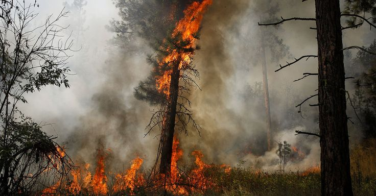 As of Monday morning, the fire was only 10% contained, and officials warn that it could continue burning until snow arrives in the fall.