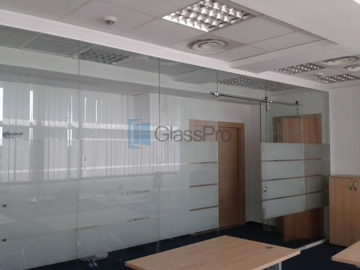 Compartimentari birouri din sticla.