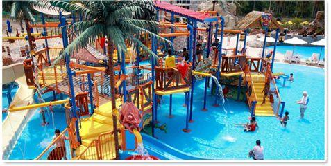 Splash Jungle at Thailand