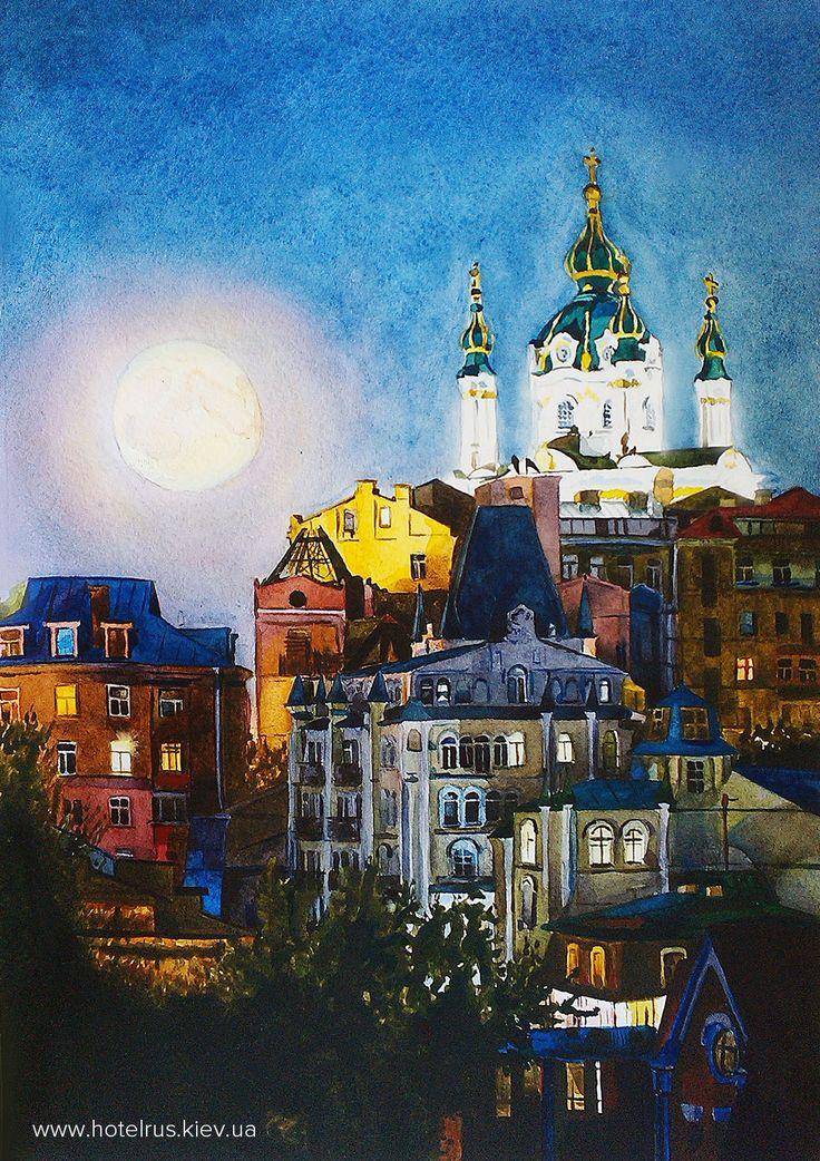 Kiev night from our designer