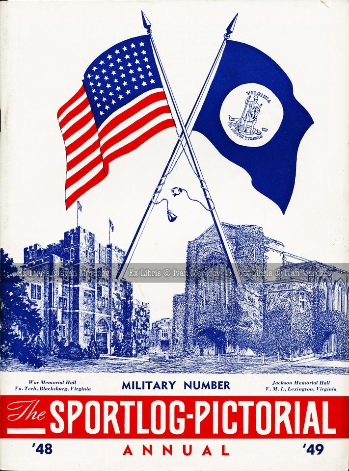 1948.11.25. Virginia Tech (Hokies) vs Virginia Military