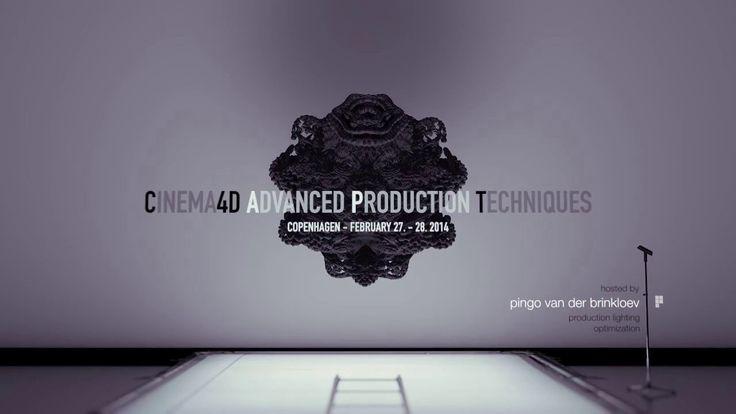 Cinema4D Advanced Production Techniques Teaser