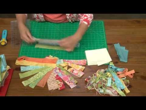 Joanna Figueroa modern quilt block design | Craftsy Quilting Stash Busters - YouTube