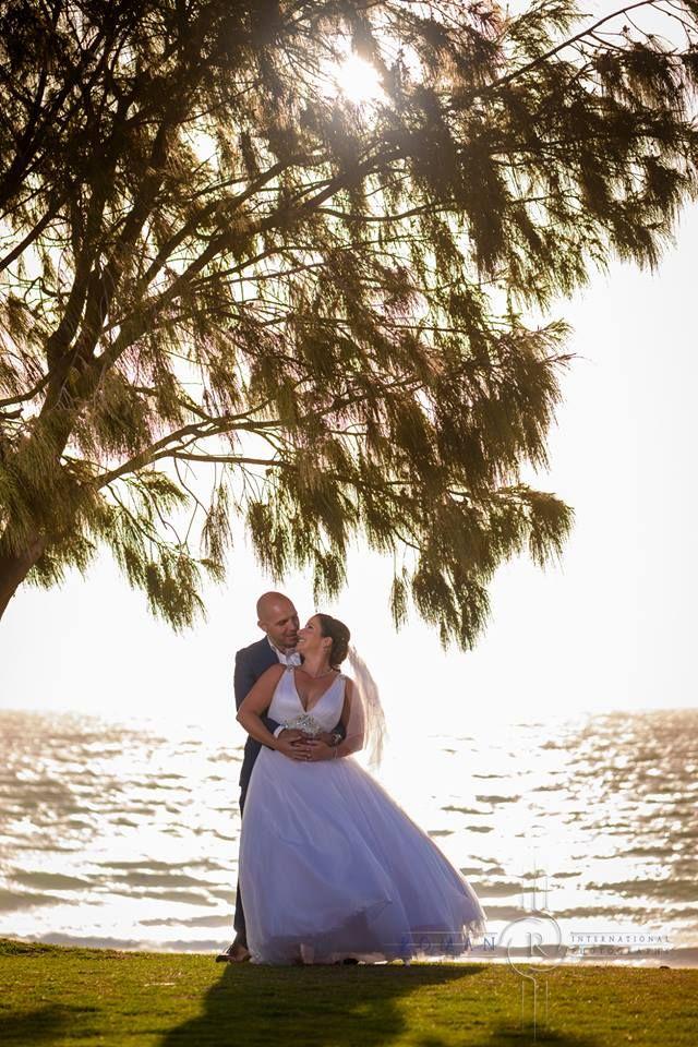 Romantic Beach couple shot