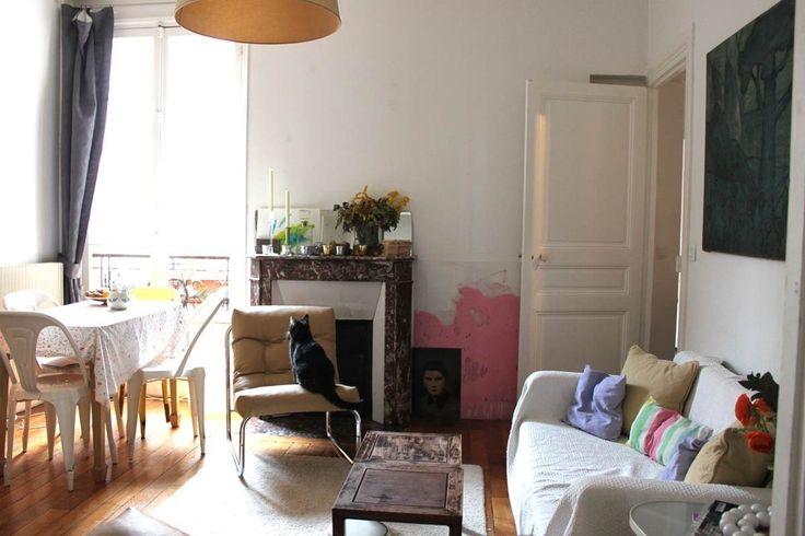 Julie's Vermeer-Worthy Apartment in Paris