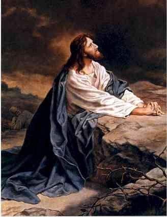 Jesus in Gethsemane! ♥