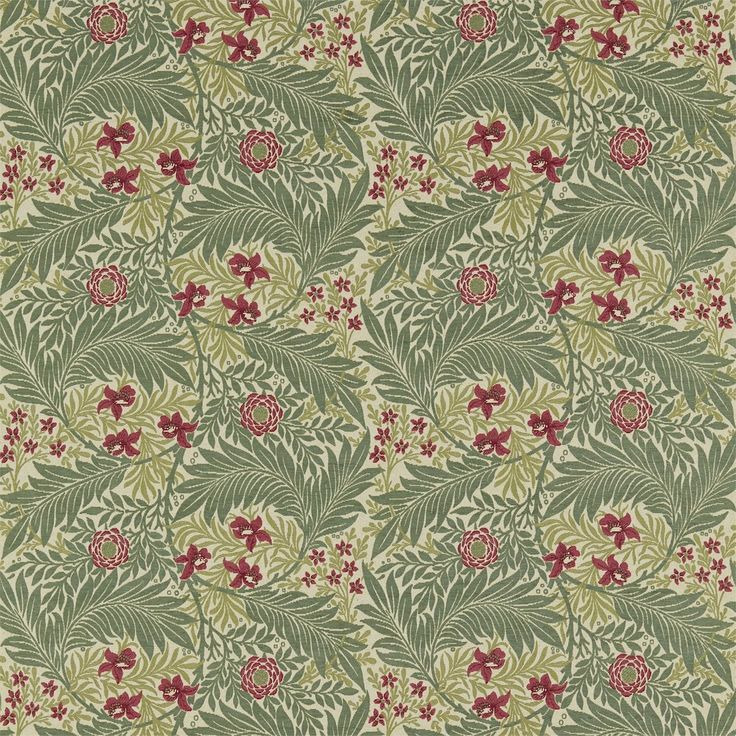 The Original Morris & Co - Arts and crafts, fabrics and wallpaper designs by William Morris & Company | Products | British/UK Fabrics and Wallpapers | Larkspur (DKELLA301) | Pimpernel Weaves