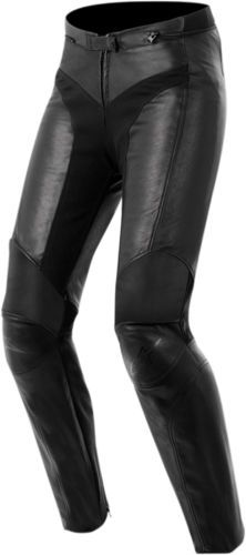 ALPINESTARS-Stella-VIKA-Leather-Motorcycle-Riding-Pants-Black-Choose-Size