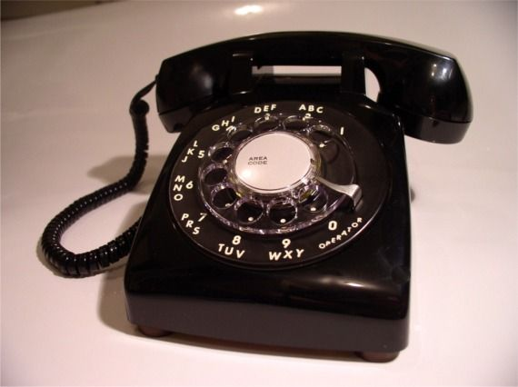 Rotary Dial Phones.