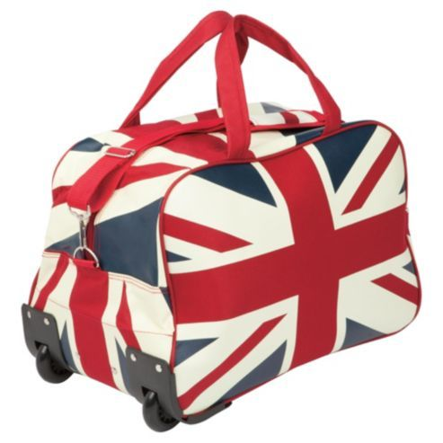 Constellation Union Jack 2-Wheel Holdall, Small