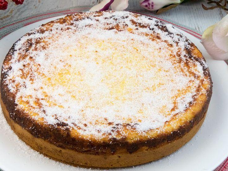 Prăjitura inteligentă cu brânză - in loc de pasca