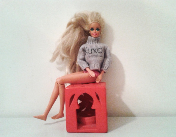 Barbie + Kuxo' = love www.kuxo.it