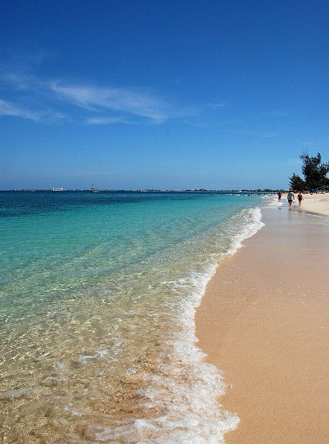 Seven Mile Beach, Grand Cayman #Caribbean - Book It Now :-)
