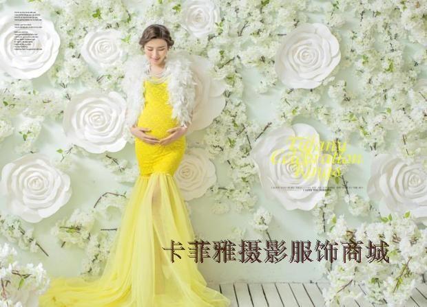 Новая / корейский / фото студия Материнство / Беременная 2015 ФОТО одежда / мода беременности мама фотокамера одежда - глобальная станция Taobao