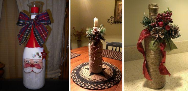 Ofera un cadou inedit de Sarbatori: personalizeaza o sticla de vin cu motive de Craciun. Alege una din cele 12 idei pentru sticle de vin personalizate cu motive de Craciun