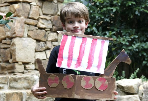 History Activity: Make a Viking Ship