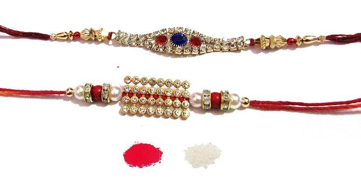 #NKY Rakhi Unique Design #Rakhi Set Of 2 Rakhi For #Brother With Roli Chawal #Rakshabandhan Special