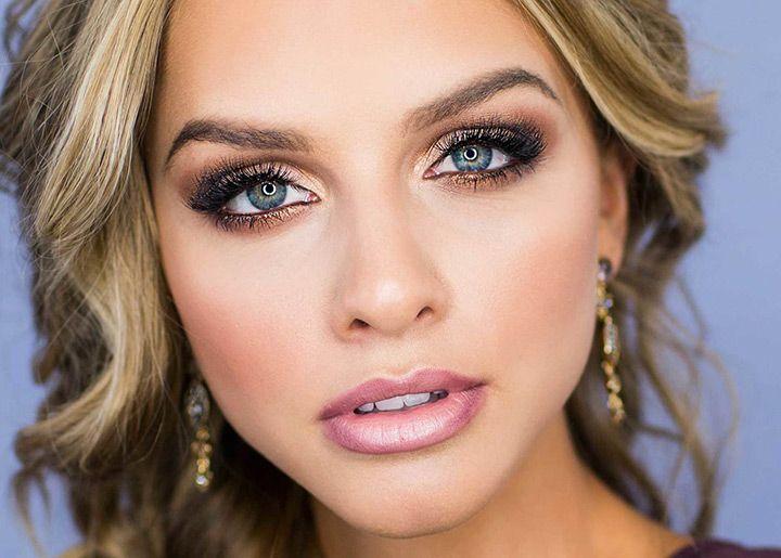 Smokey Eye Wedding Makeup Looks : 1356 best Bridal Makeup images on Pinterest