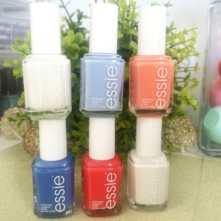"""DIS-CHEM LIPS + NAILS HAUL - ESSIE """"PEACH SIDE BABE"""" SUMMER COLLECTION  - i didnt like like Chillato so i replaced it with Blanc.  (top row) Blanc, Salt Water Happy, Peach Side Babe (bottom row) Pret-A-Surfer, Sunset Sneaks  Private Weekend"""