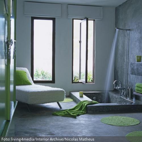 7 besten Badewannen Bilder auf Pinterest Badezimmer, Badewannen - interieur bodenbelag aus beton haus design bilder
