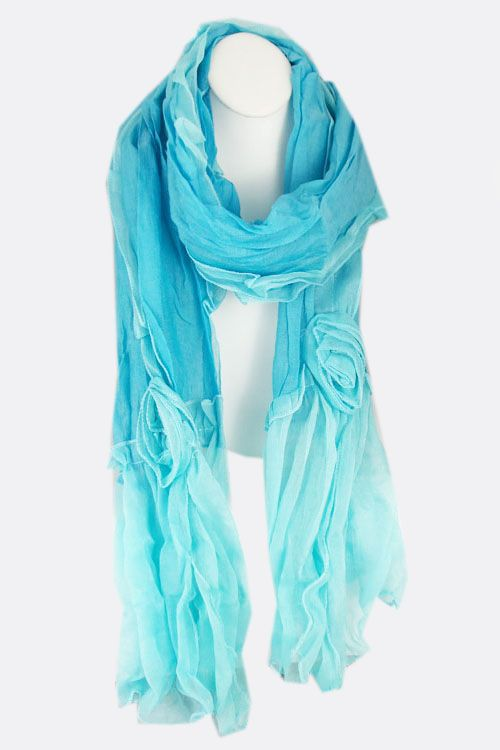 Sky Applique Scarf on Emma Stine Limited .. Ok, Christmas is too soon, but my birthday is only 3 months away.