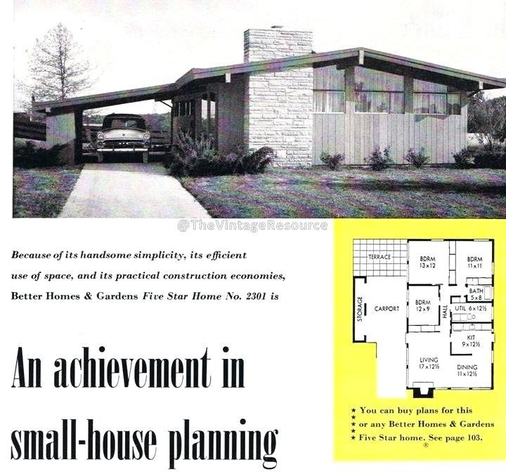 Ideas 1970s House Plans Or Better Homes And Gardens House Plans 1970s New 91 Best Mi Split Level House Plans Vintage House Plans Mid Century Modern House Plans