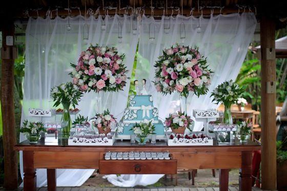 decoração de festa de casamento simples e barata - Pesquisa Google