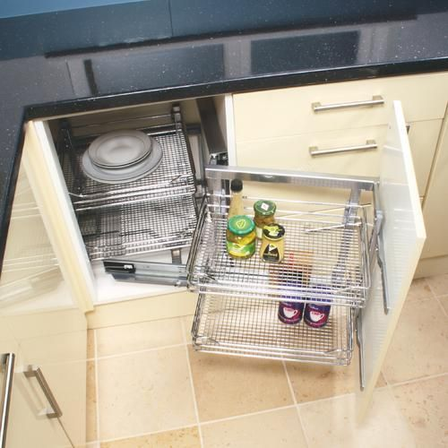 From wickes magic corner unit i don 39 t usually like for Wickes kitchen cupboards
