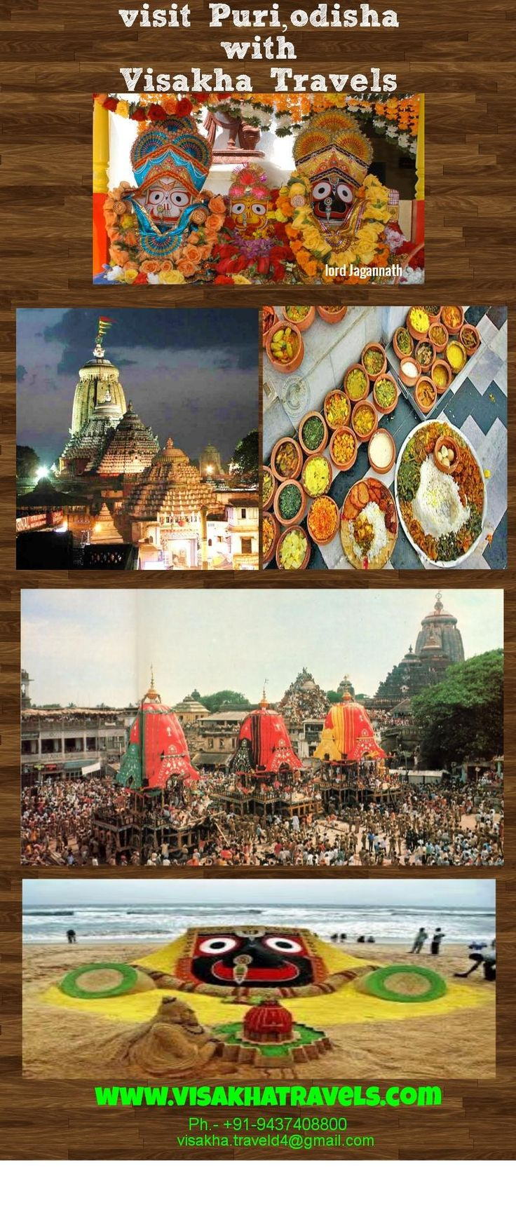 Visakha Travels Agency in Puri-Find the best Travel Agency of Puri Visakha Travels .