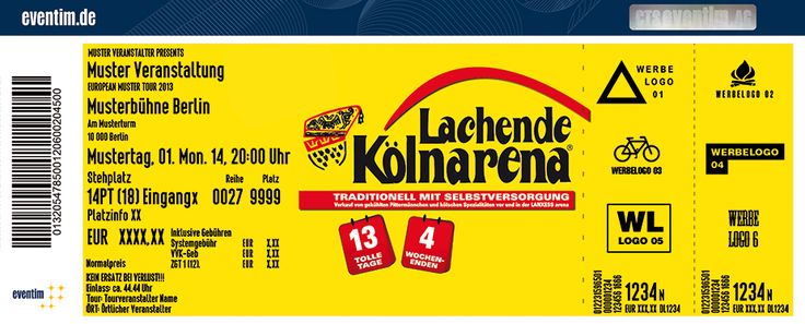 Lachende Kölnarena Tickets - Eventim
