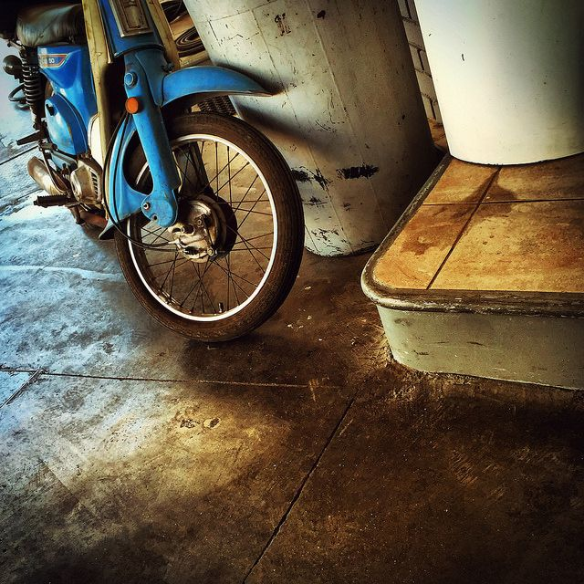 #motorbike #wheel #corner #cement #iPhone | by Tryfon Tobias Pliatsikouris
