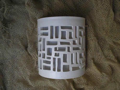 Arandela de Cerâmica – Luminárias e LED  | Decoração | Vamos Construir