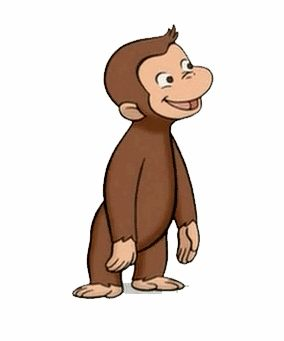 Curious George or Rocco? They kind of look alike.